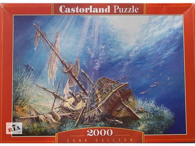 бу Пазлы - Мозаика 2000 шт. Castorland Puzzle - Sunk Galleon в Новой Каховке