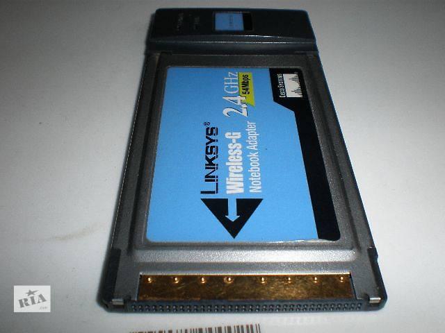продам PCMCIA Wi-Fi адаптер для ноутбука Cisco wpc54g бу в Виннице