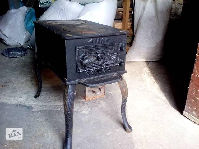 купить бу Печь (буржуйка) с чугунной варочной поверхностю в Шумске
