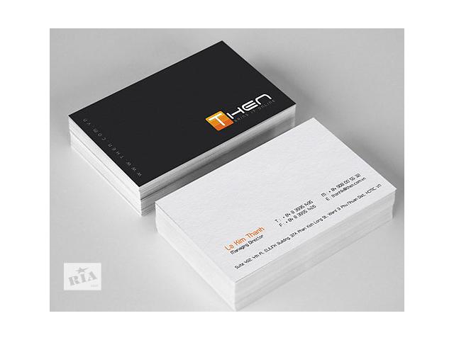 бу печать визиток 239грн\1000шт в Киеве