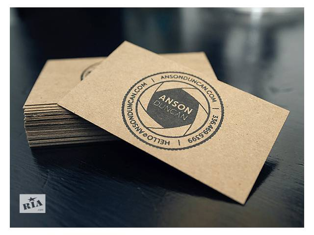 купить бу Печать визиток г. Сумы  в Украине