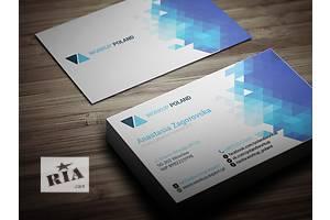 Печать визиток от 100грн/1000шт, Бесплатная Доставка, визитки, флаеры, наклейки, полиграфия