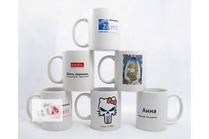 Печать на чашках
