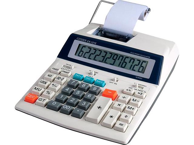 бу Печатающий калькулятор CITIZEN CX-121II в Донецке