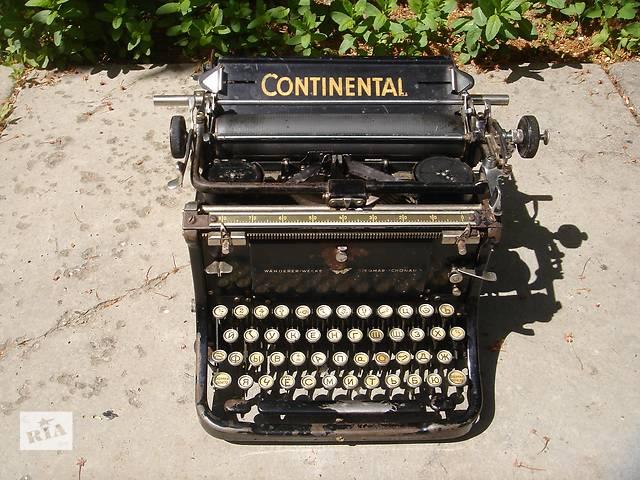продам Печатная машинка CONTINENTAL бу в Броварах