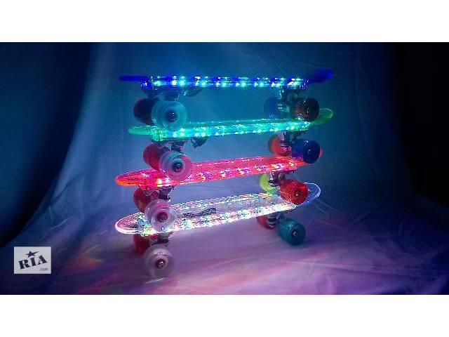 Penny Board LED прозрачный- объявление о продаже  в Одессе