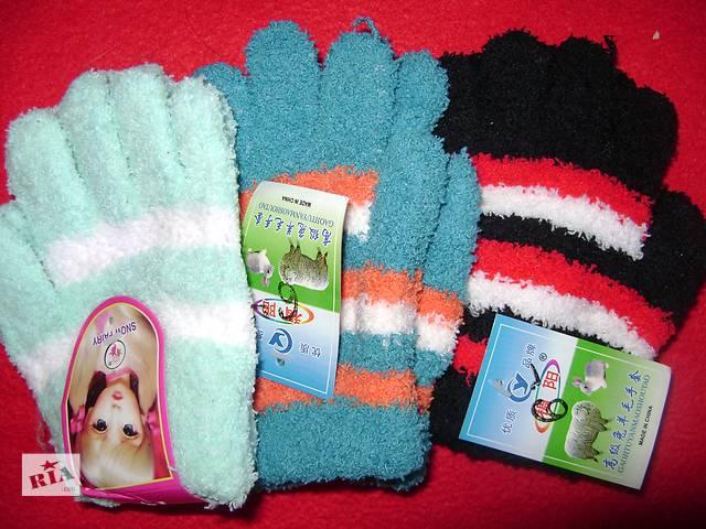 купить бу Перчатки детские махровые в Киеве