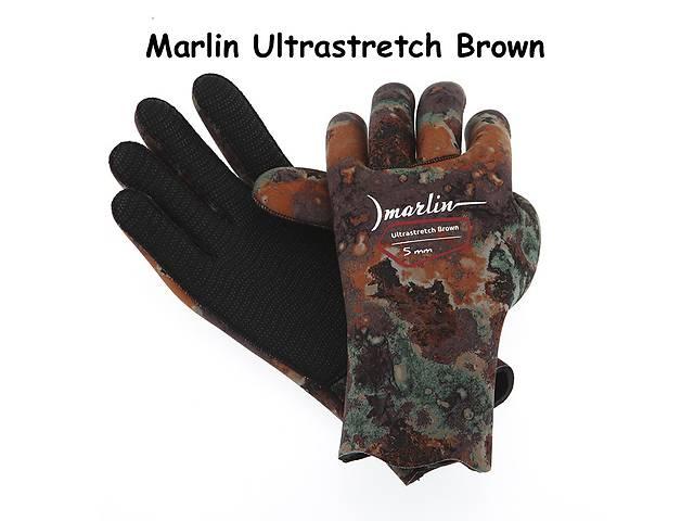продам Перчатки Marlin Ultrastretch green / brown / oliva (5 мм) бу в Мариуполе