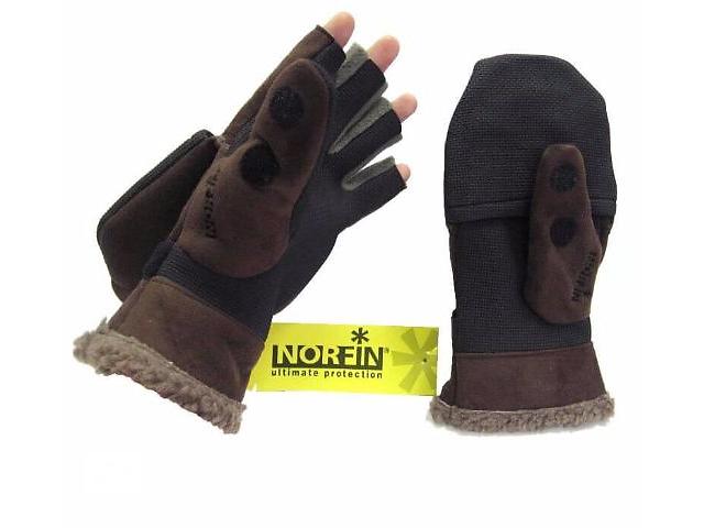продам Перчатки-варежки Norfin Aurora ветрозащитные отстёгивающиеся (703025) бу в Виннице