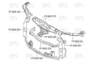 Новые Усилители заднего/переднего бампера Suzuki Grand Vitara