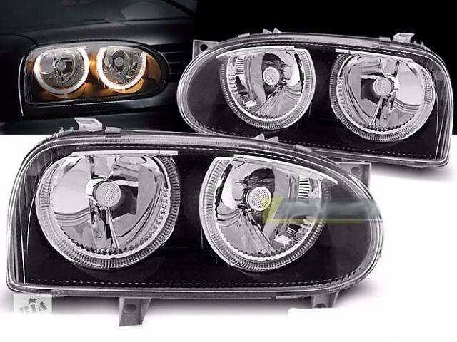 Передние фары тюнинг оптика Volkswagen VW Golf 3 (LPVW29)- объявление о продаже  в Луцке