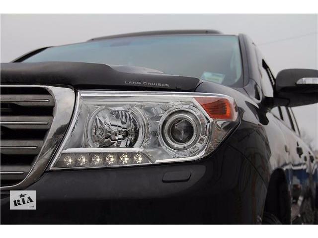 Передние фары рестайлинг оптика Toyota Land Cruiser 200 Тойота Ленд Крузер 200- объявление о продаже  в Луцке