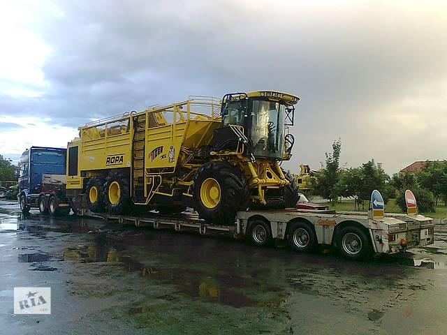 купить бу Перевозка негабаритных и тяжелых грузов  в Украине
