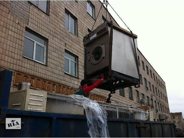 Перевозка оборудования, такелажные работы.- объявление о продаже  в Киеве