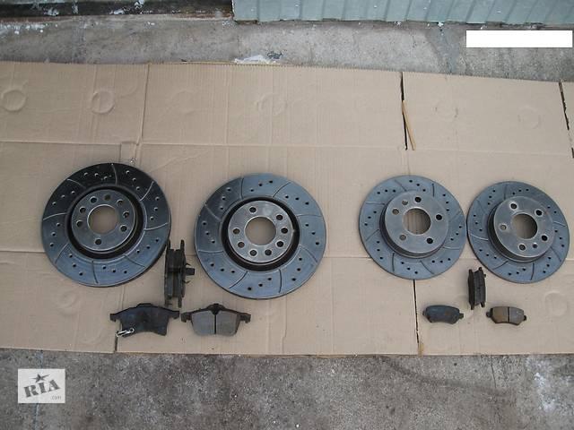 бу Перфорированные тормозные диски +колодки,перед 5х110х308,зад 5х110х264 для Опель Астра Н/Зафира В/Opel Astra H/Zafira B в Черкассах