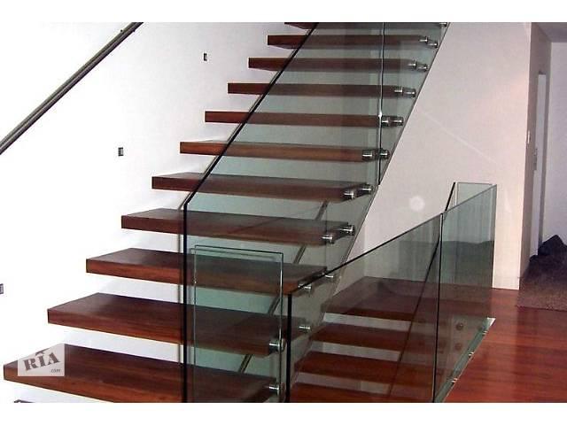 продам Перила и ступени для лестницы из стекла бу в Киеве
