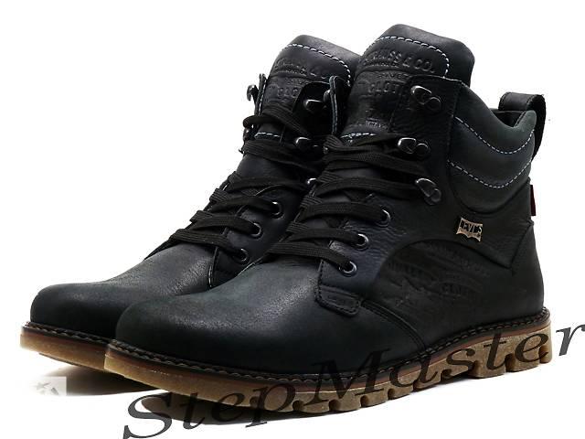 бу Пешеходные ботинки LEVI`S Б25-01 черные в Вознесенске