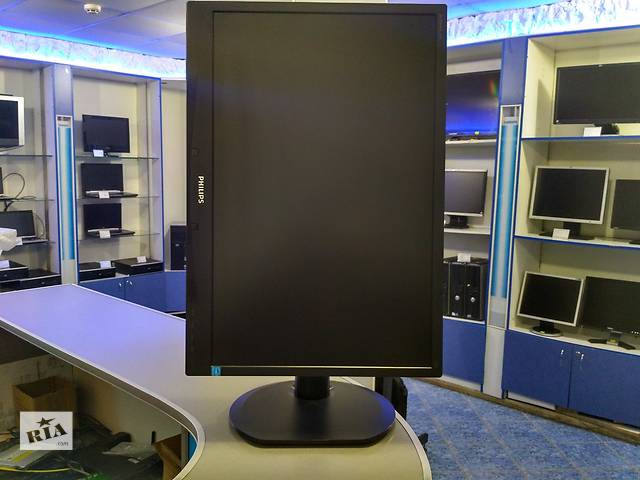 "купить бу Philips Brilliance 220B4L / 22"" / LED TFT / 1680x1050 16:10 / VGA, DVI в Нововолынске"