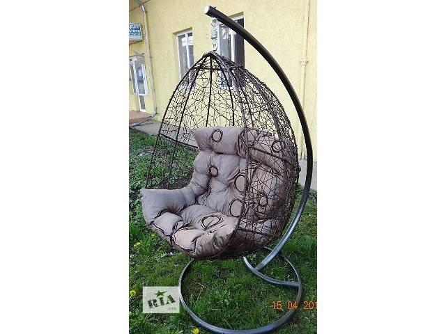 бу Подвесные садовые качели. Подвесное кресло-кокон в Самборе