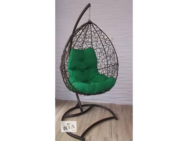 купить бу Подвесные садовые качели. Подвесное кресло-кокон в Самборе