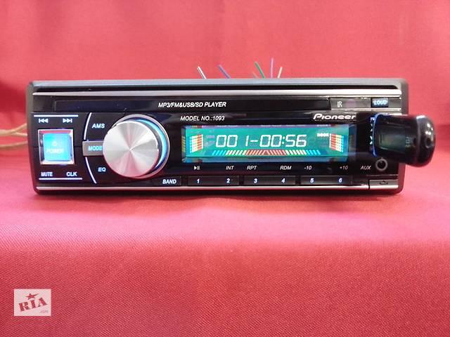 продам Pioneer 1093 Blue (USB, SD, FM, AUX, ПУЛЬТ)  бу в Запорожье