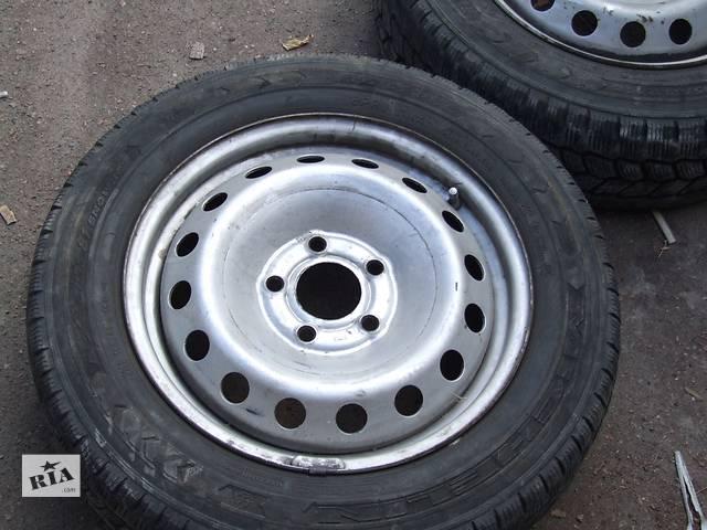 купить бу Pirelli Agilis 195/65/16C (7-8 мм) + диски Renault Trafic в Киеве