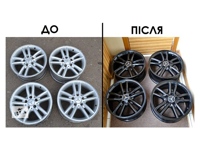 купить бу Пескоструй и порошковая покраска дисков  в Украине