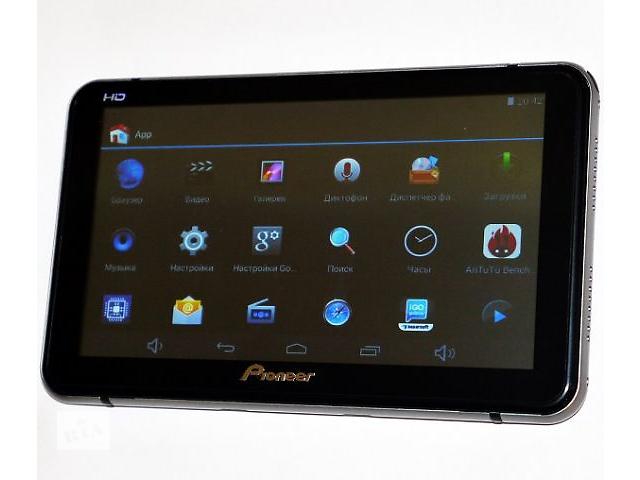 Планшет-навигатор Pioneer X6 8 GB Android 4 ядра GPS видеовход AV-in- объявление о продаже  в Одессе