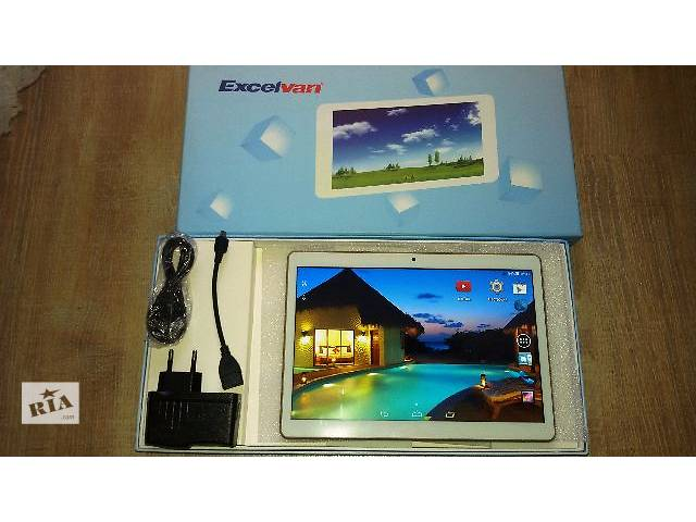 "продам Планшет Excelvan 9.6"" IPS HD 1280*800 2-3G 1 ГБ/16 ГБ 4 ядра GPS бу в Полтаве"