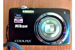 б/у Компактная фотокамера Nikon