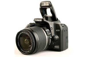 б/у Зеркальные фотоаппараты Canon EOS 1000D Kit (18-55 IS)
