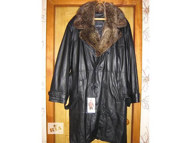 купить бу плащ-пальто из натуральной кожи в Краснодоне