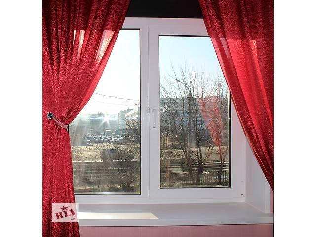 купить бу Пластиковое окно Rehau 1300x1400 мм в Петропавловке (Днепропетровской обл.)