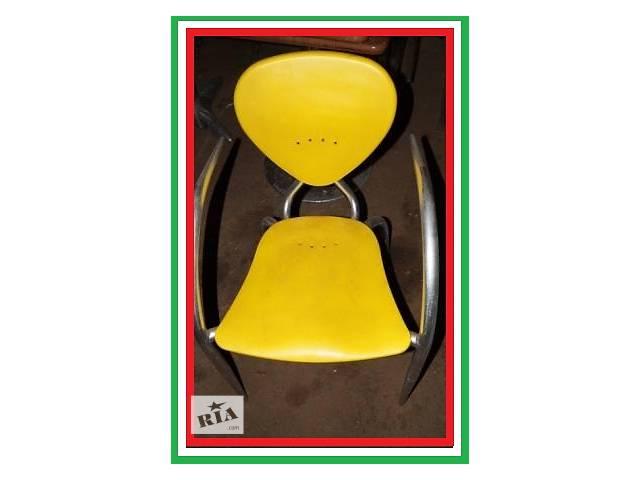 купить бу Пластиковые стулья дизайнерские б/у Simphony МВ Италия алюминиевый каркас в Киеве