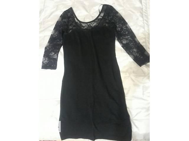 Платье черное кружевное фирма divided р.xs- объявление о продаже  в Киеве