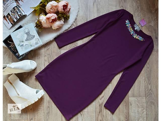 Платье дэкорированное камнями 8 цветов- объявление о продаже  в Прилуках