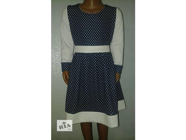 Платье детское, с манжетами, модель № 7 (в двух вариантах)- объявление о продаже  в Хмельницком