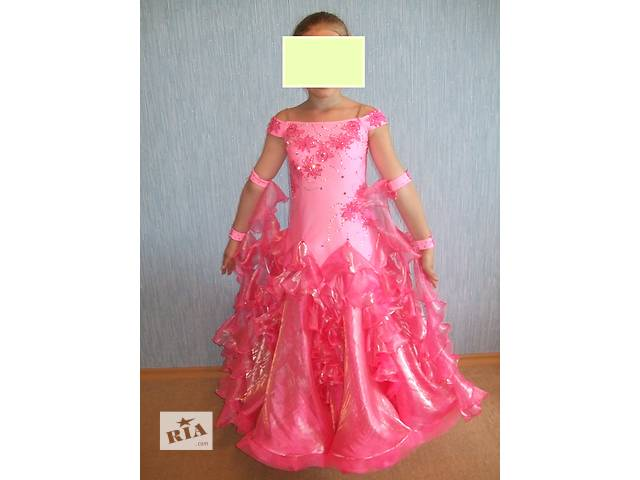 купить бу платье для бальных танцев в Виннице
