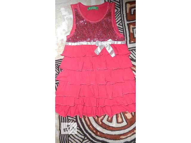 продам Платье для девочки 5-6 лет бу в Киеве