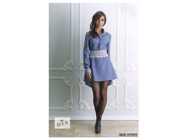 купить бу Платье молодёжное сзади удлинённое оригинальное стильное нарядное эффектное очень красивое в Полтаве