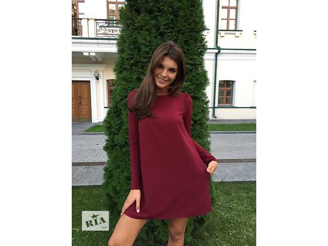 """купить бу Платье-мини с карманами """"Маргарита"""" в Прилуках"""
