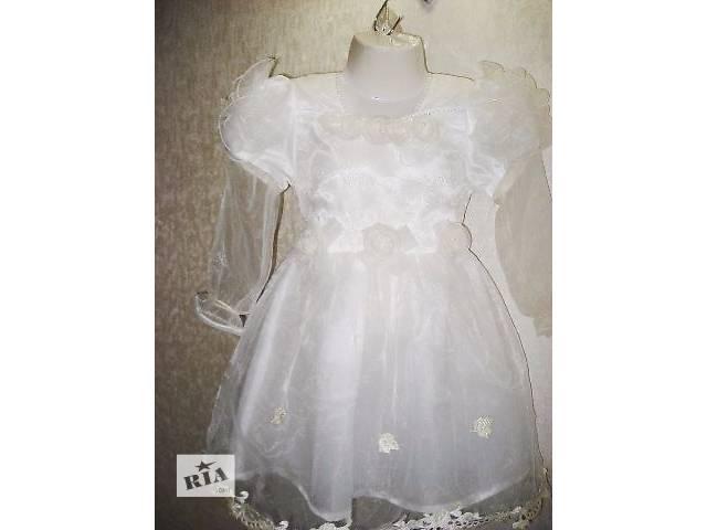 купить бу Платье белое Снежинка в Киеве