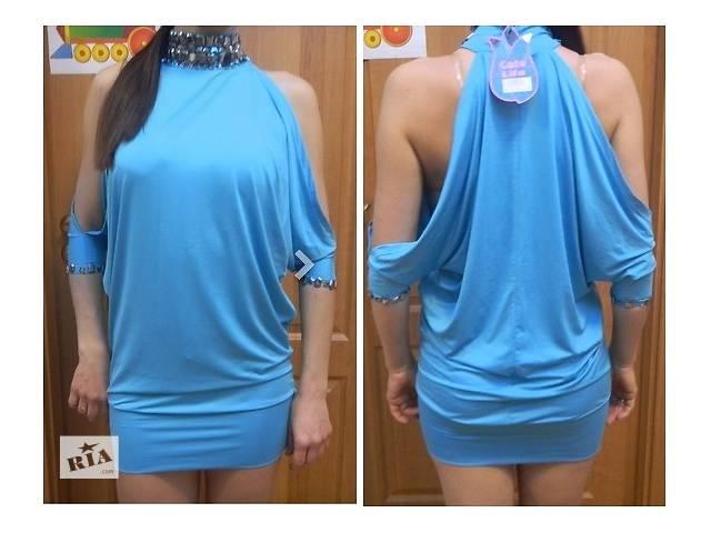 продам Платье  женское голубое 40-42 размер бу в Днепре (Днепропетровск)