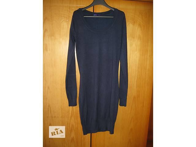 продам платье синее бу в Дунаевцах (Хмельницкой обл.)