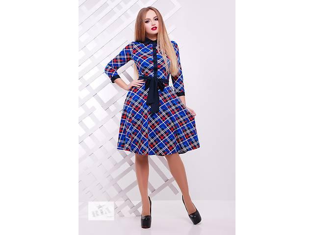 купить бу Платье - синяя клетка. Есть много красивых моделей. в Одессе