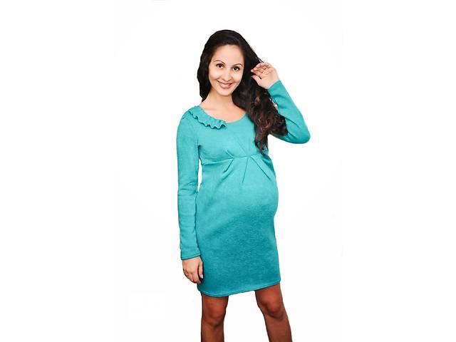 купить бу Платье теплое для беременных в Киеве