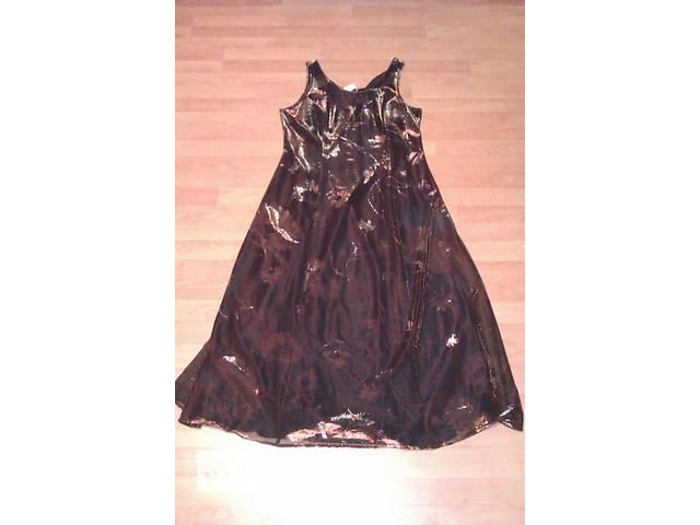 бу Платье вечернее с накидкой из блестящей ткани в Сумах