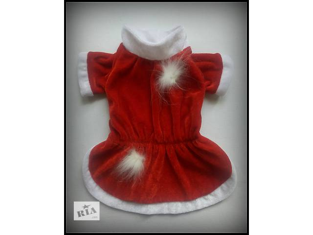 бу Платье велюровое Санта в Харькове