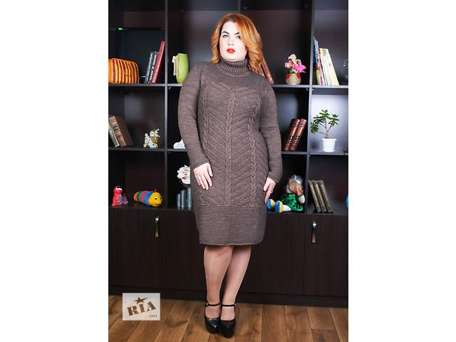 продам Платье вязанное Нимфа с 48-60 бу в Львове