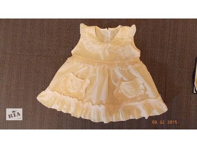 купить бу Платье летнее на 12-18 мес.+ штанишки в подарок в Киеве